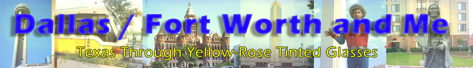 Dallas / Fort Worth and Me header image 2