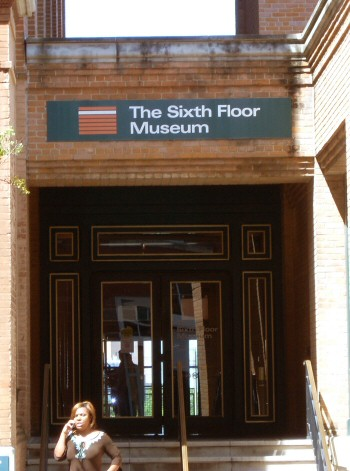 Sixth Floor Museum Entrance