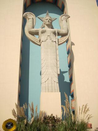 Centennial Statue