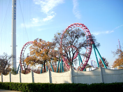 six flags rides. Here#39;s an example of a ride