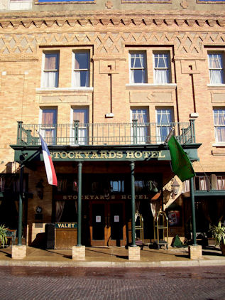 The Stockyards Hotel Fort Worth Dallas Fort Worth And Me