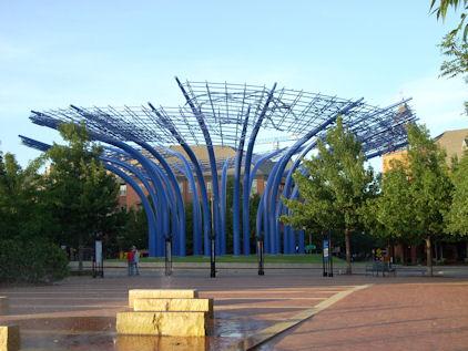 Addison Circle Sculpture