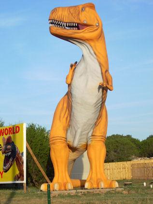 Orange T. Rex