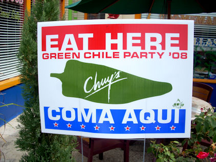 Green Chile Party
