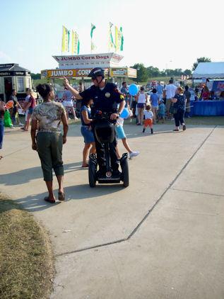 Segway Cop